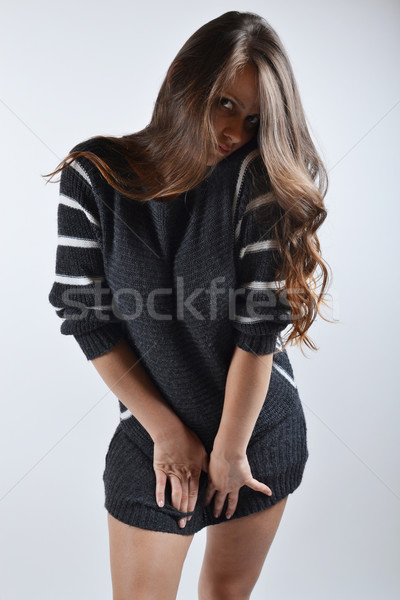 美少女 スタジオ ファッション 小さな 女性 美しい ストックフォト © studio1901