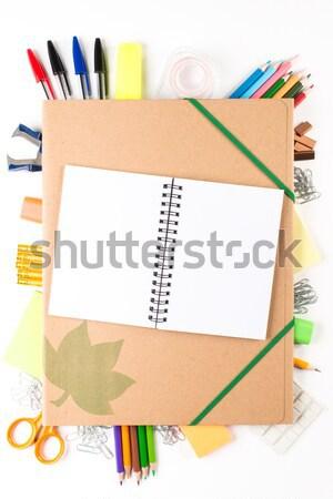 学校 ペン 学生 教育 教室 ストックフォト © Studio_3321