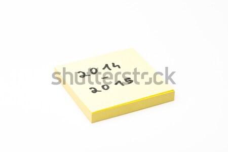 Post-it rentree Stock photo © Studio_3321