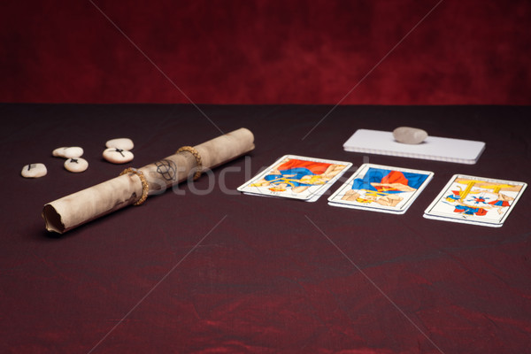 Clairvoyance equipment Stock photo © Studio_3321