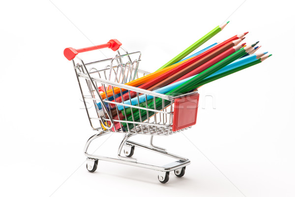 学校 白 ペン 学生 ショッピング ストックフォト © Studio_3321