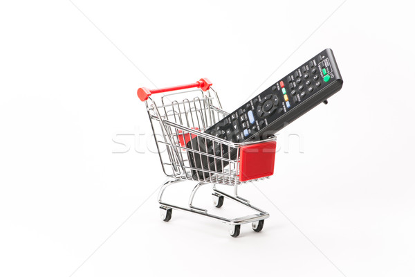 Caddy for shopping with remote control Stock photo © Studio_3321