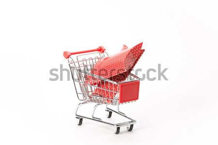 Caddy for shopping in supermarket Stock photo © Studio_3321