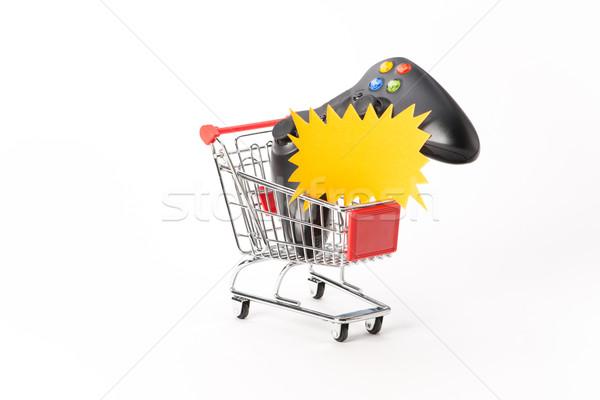 ショッピング ゲーム おもちゃ 販売 電子 購入 ストックフォト © Studio_3321