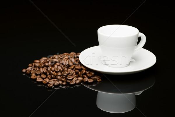 豆 コーヒー豆 コーヒー 黒 反射 カフェ ストックフォト © Studio_3321