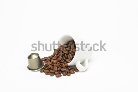 シード コーヒー カプセル 白 食品 ドリンク ストックフォト © Studio_3321