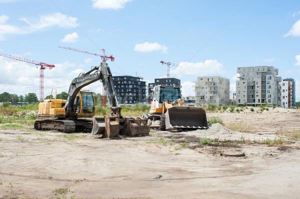 建設 建物 都市 市 ストックフォト © Studio_3321