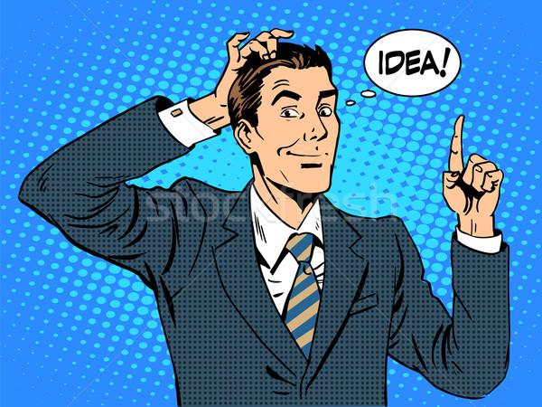 Creative business people businessman idea Stock photo © studiostoks