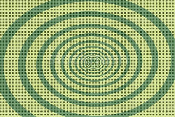 Verde espiral arte pop retro fondo Foto stock © studiostoks