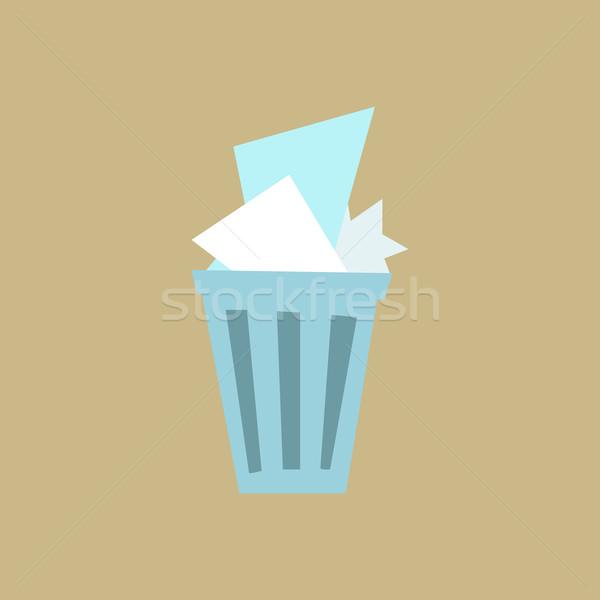 Waste basket Stock photo © studiostoks