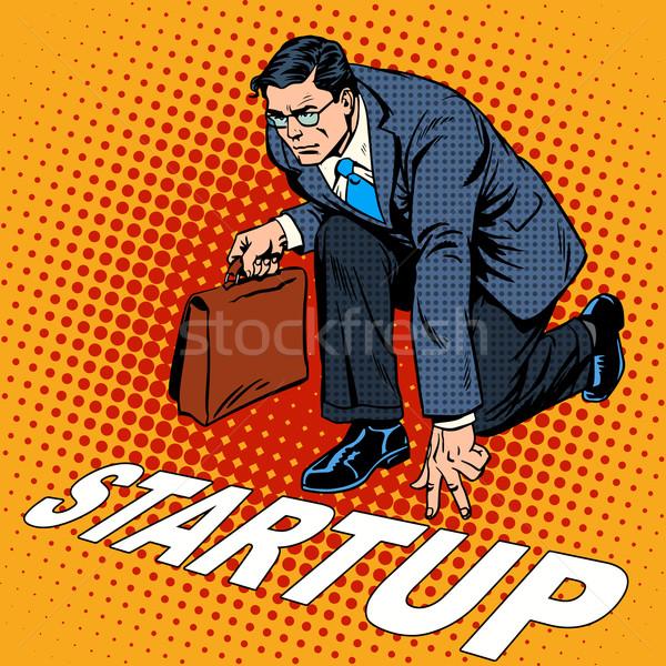 Negocios inicio empresario empresa fondo empresa Foto stock © studiostoks