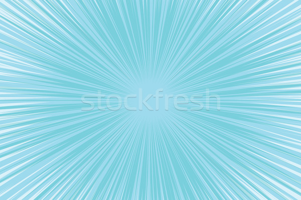 Blue cool light pop art comic background Stock photo © studiostoks