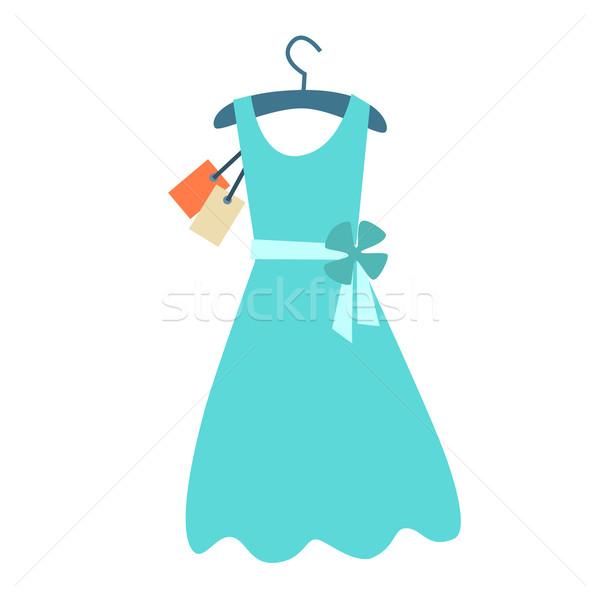 Summer dress hanger price tag Stock photo © studiostoks