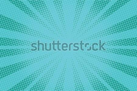 retro comic background raster gradient halftone Stock photo © studiostoks