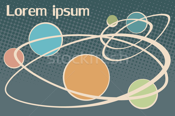 scientific background Lorem ipsum Stock photo © studiostoks