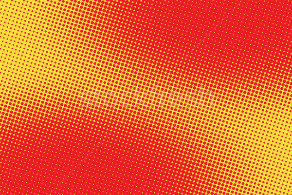 retro comic red pink background raster gradient halftone Stock photo © studiostoks
