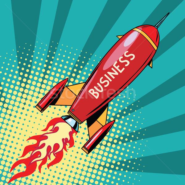 business startup rocket Stock photo © studiostoks
