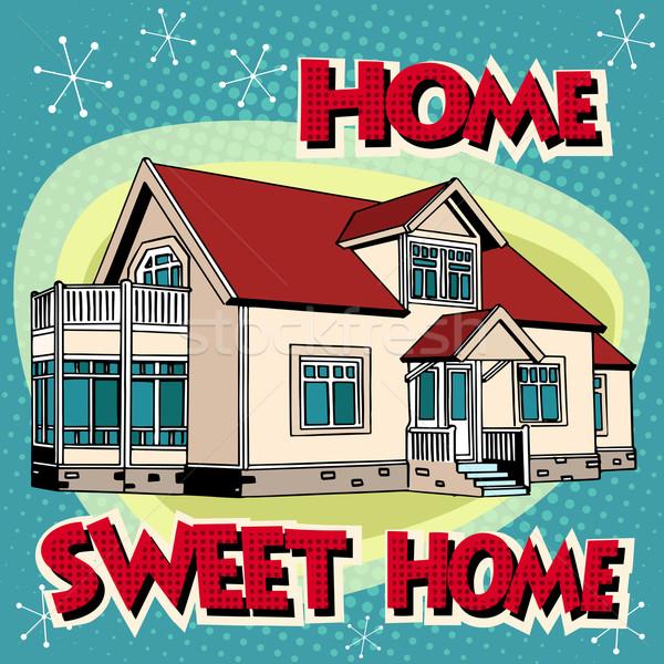 Sweet home cottage Stock photo © studiostoks