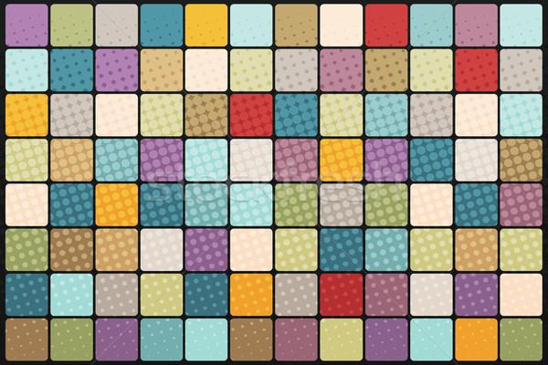 Mosaic background of colored squares Stock photo © studiostoks