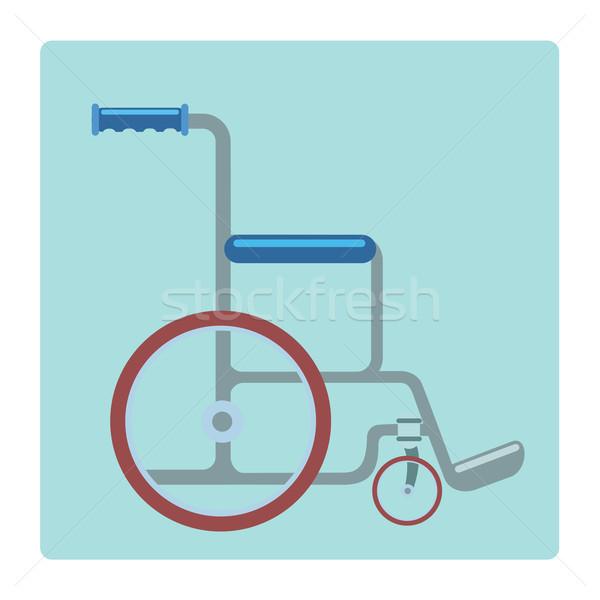 Wheelchair medical stretcher Stock photo © studiostoks