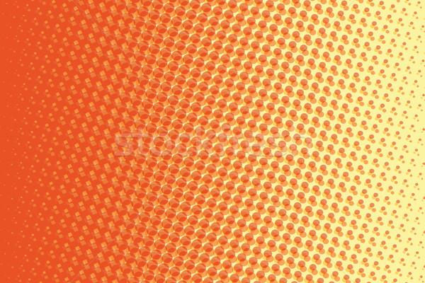 抽象的な 赤 黄色 勾配 ポップアート レトロな ストックフォト © studiostoks
