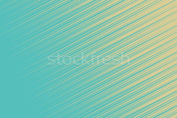 Turquoise hatch retro background Stock photo © studiostoks