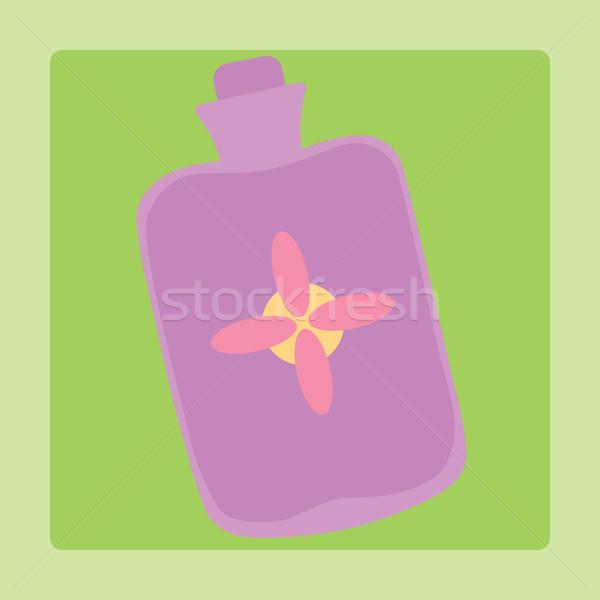 Tıbbi kauçuk ısıtma simge imzalamak resim yazı Stok fotoğraf © studiostoks