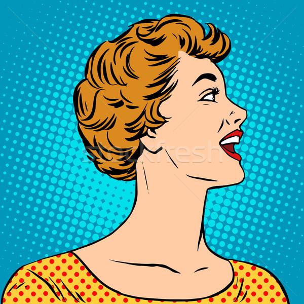 商业照片: 美丽的姑娘 · 海报 · 风格 · 波普艺术 · 复古 · 年轻