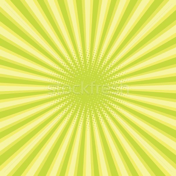 green colored back pop art style background Stock photo © studiostoks