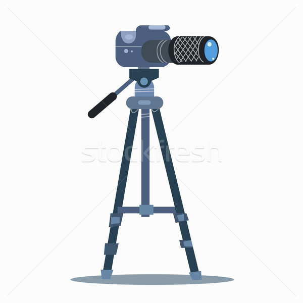 camera tripod static professional photography Stock photo © studiostoks