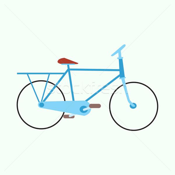 mens urban exercise bike Stock photo © studiostoks