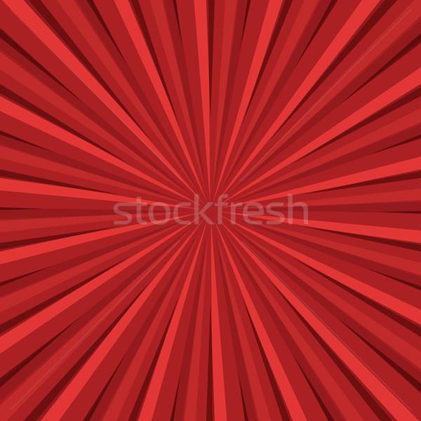 赤 日光 レトロな ヴィンテージ ポップアート 実例 ストックフォト © studiostoks