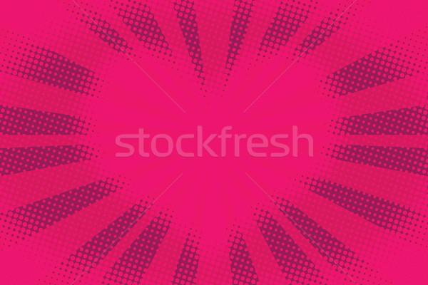 rouge coeur pop art r tro couple cadre illustration vectorielle valeriy kachaev. Black Bedroom Furniture Sets. Home Design Ideas
