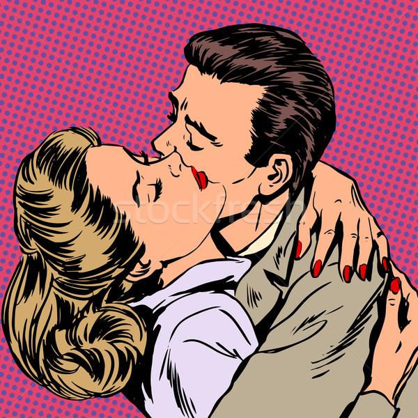 Passion homme femme amour relation Photo stock © studiostoks
