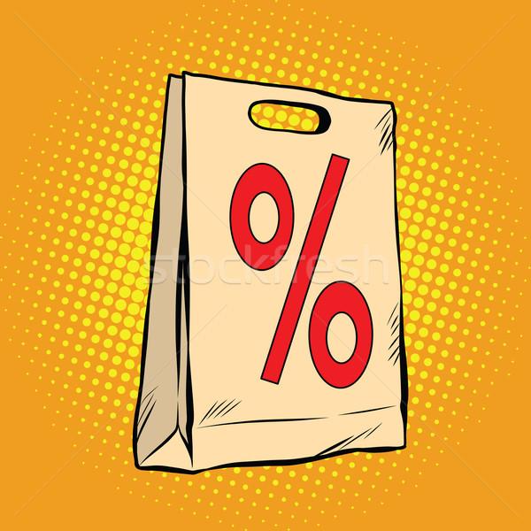 package discount percent sale Stock photo © studiostoks