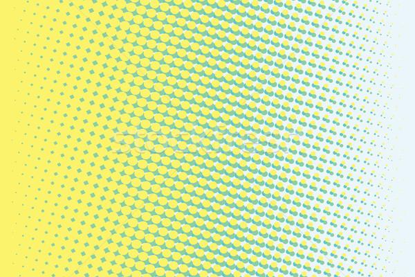 аннотация желтый зеленый градиент Поп-арт ретро Сток-фото © studiostoks