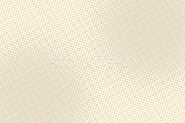 Light brown retro pop art background Stock photo © studiostoks