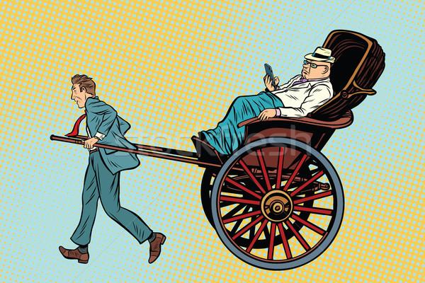 Stock fotó: üzletember · vagyonos · ügyfél · taxi · luxus · szolgáltatások