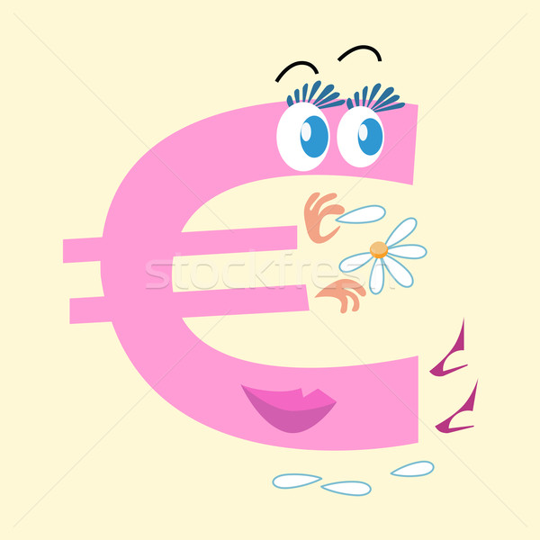 Euro sign national currency Europe Stock photo © studiostoks