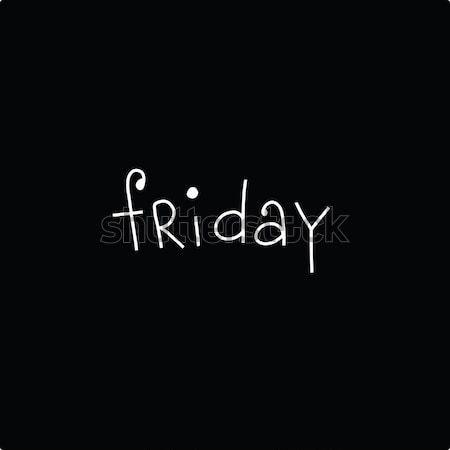 Black Friday inscription Stock photo © studiostoks