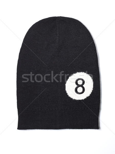 black woolen handmade cap basketball ball alike Stock photo © Studiotrebuchet