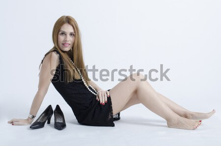 pretty fashion girl Stock photo © Studiotrebuchet