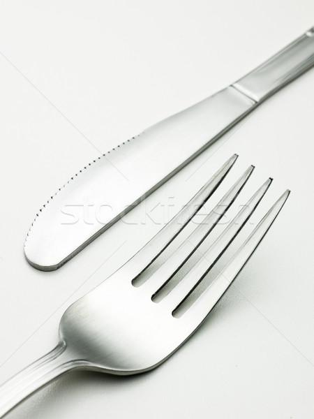 silver cookware Stock photo © Studiotrebuchet