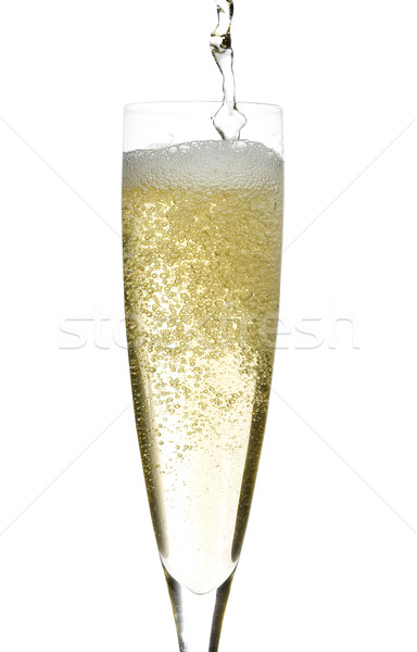 Champagne glass celebration Stock photo © Studiotrebuchet