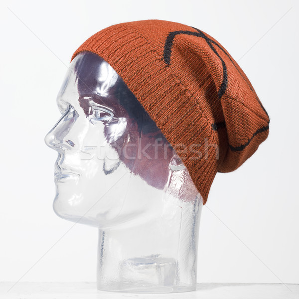 Orange laine cap basket balle Photo stock © Studiotrebuchet
