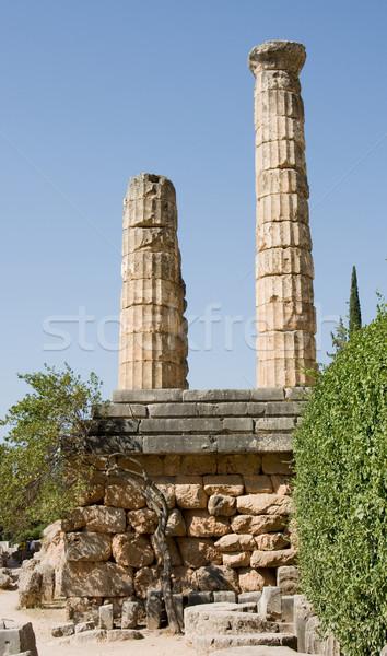delphi oracle Greece Stock photo © Studiotrebuchet