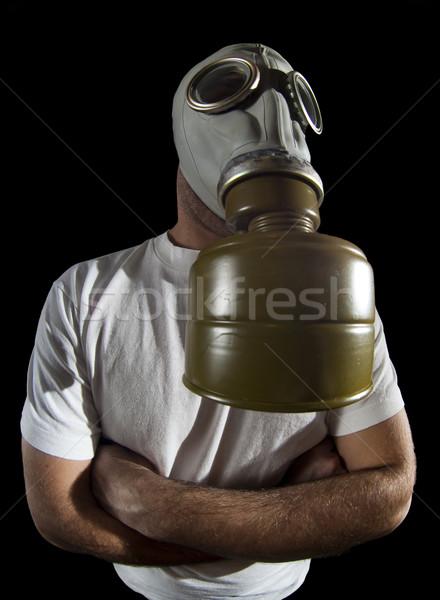 gas mask danger  Stock photo © Studiotrebuchet
