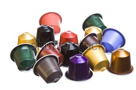 cofee capsules Stock photo © Studiotrebuchet