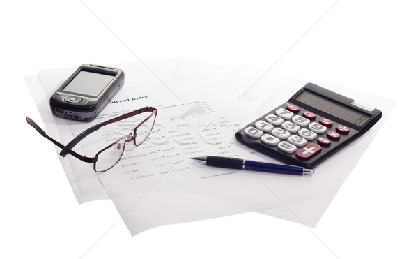 accounting business Stock photo © Studiotrebuchet