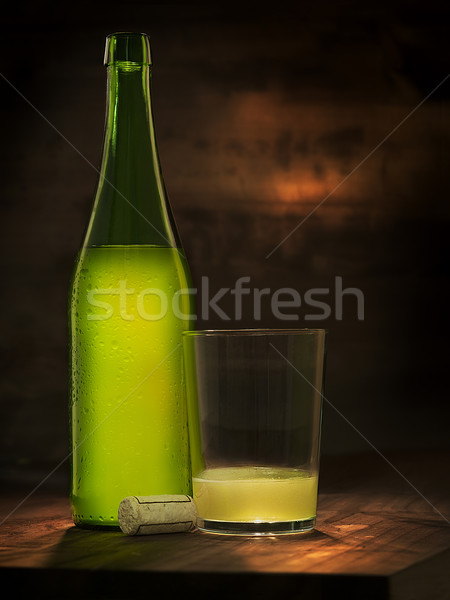 fresh cider Stock photo © Studiotrebuchet